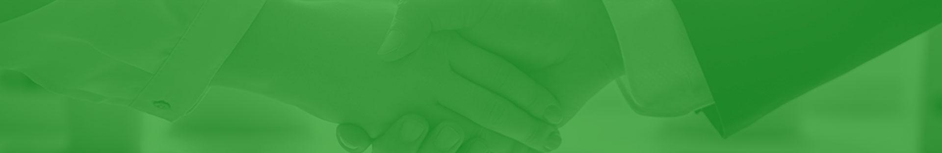 Footer zielony